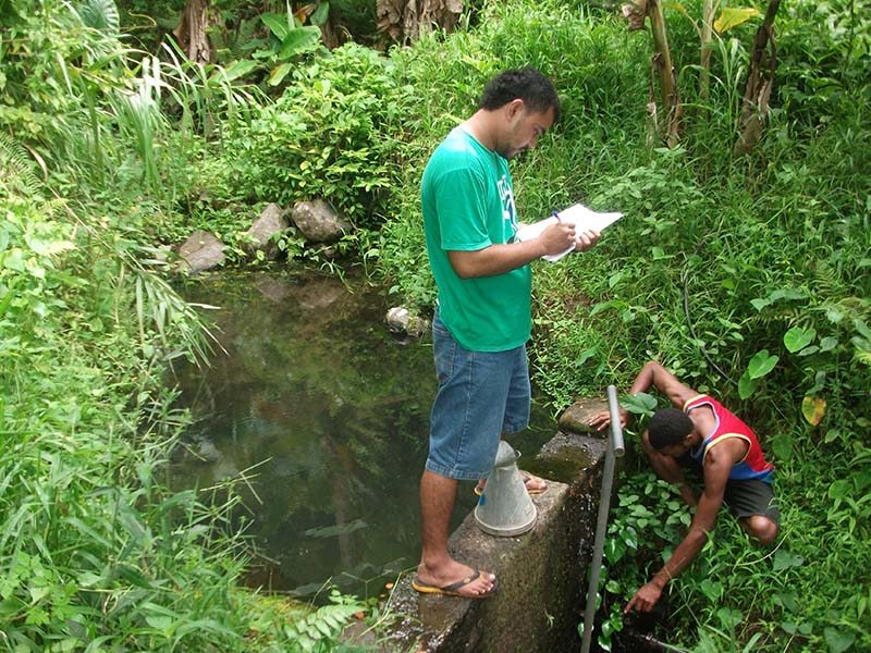 Assessing the catchment source