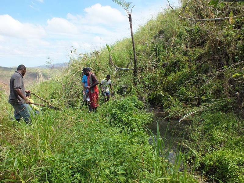 RPW is assisting Crisisobu with a gravity fed scheme that will connect the community to its own spring water source.